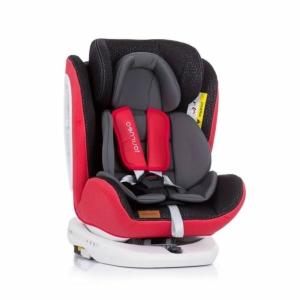 Chipolino Tourneo Isofix autós gyerekülés 0-36 kg - Red 2020
