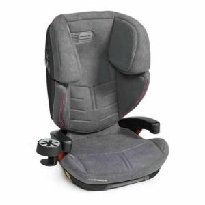 Espiro Omega Fix Autós gyerekülés 15-36 kg - 08 Grey & Pink 2020