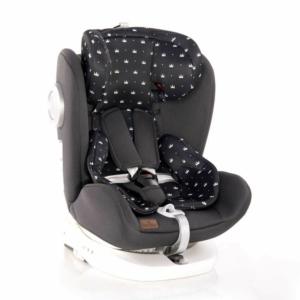 Lorelli Lusso SPS Isofix autós gyerekülés 0-36 kg Black Crowns 2020