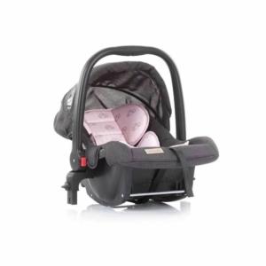 Chipolino Adora babahordozó 0-13 kg+adapter - Pony Pink 2021