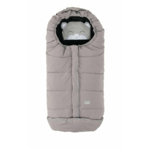 Nuvita AW Junior Cuccioli bundazsák 100 cm - Cat Melange Gray / Black - 9605