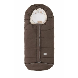 Nuvita AW Junior Cuccioli bundazsák 100 cm - Rabbit Melange Brown / Beige - 9605