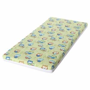 Lorelli Holiday kiságy matrac 60x120x10 cm - Vegyes színek