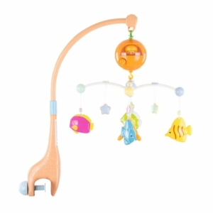 Chipolino zenélő kiságyforgó - Merry fish
