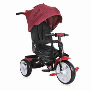 Lorelli Jaguar Eva tricikli - Red&Black