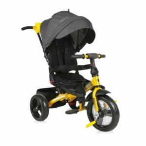 Lorelli Jaguar Eva tricikli - Black&Yellow