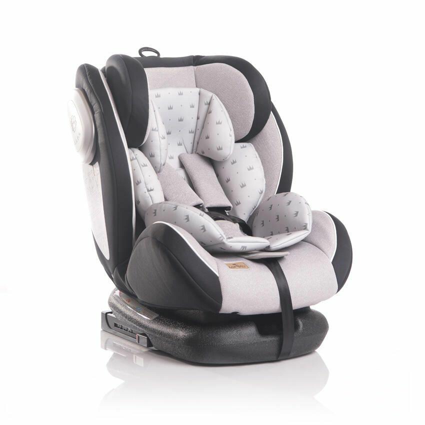 Lorelli Corsica autós gyerekülés 0-36 kg - Grey Crowns 2020